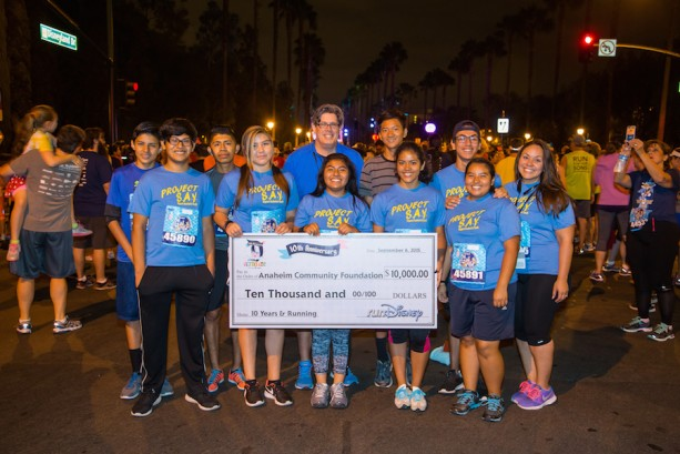 Disneyland Awards ACF $10,000 for Youth Programs